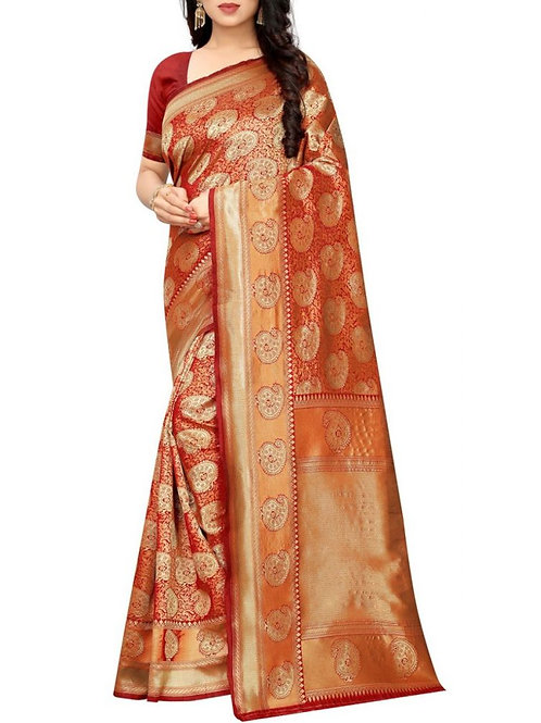 Electrifying Red Bollywood Sarees