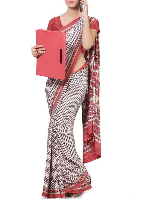 Astonishing Multi Color Fancy Saree Online Shopping