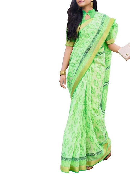 Astonishing Light Green Color Saree Collection