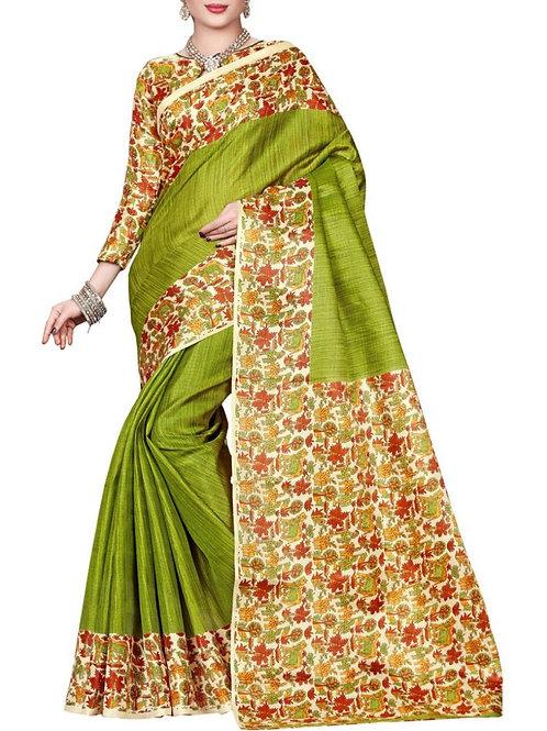 Adorable Yellow Green Color All Sarees