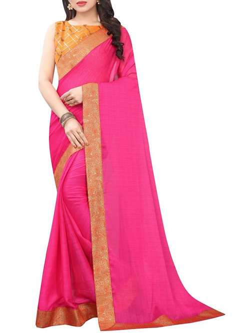 Incredible Pink Latest Saree Design With Price