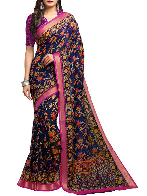 Out Of This World Blue Sarees