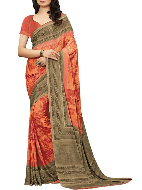 Pleasing Multi Color Saree Collections Online