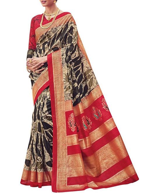Divine Black Saree Bazaar