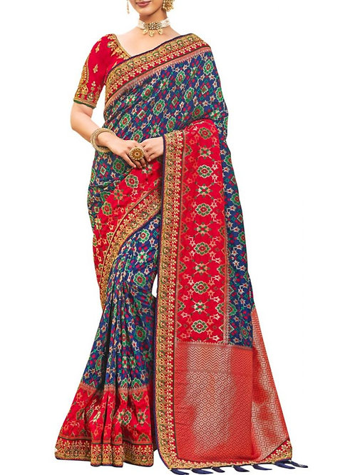 Attractive Multi Traditional Sarees Online