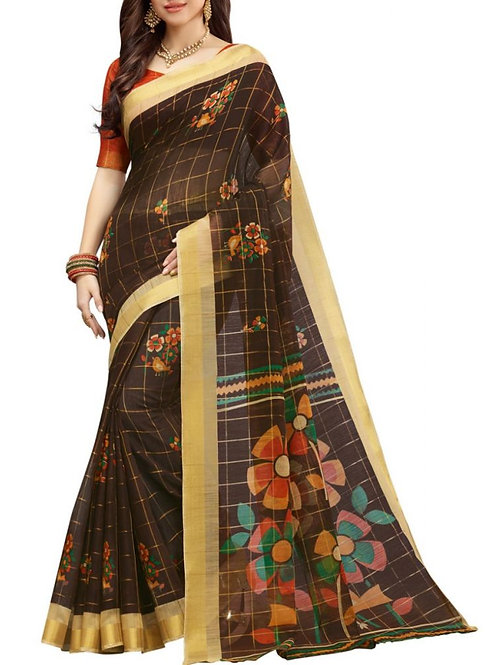 Perfect Coffee Color Sarees Online