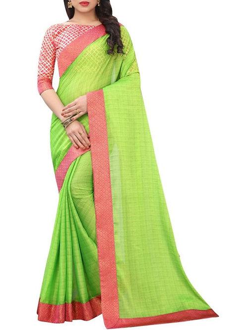 Mind-Blowing Light Green Indian Saree Online