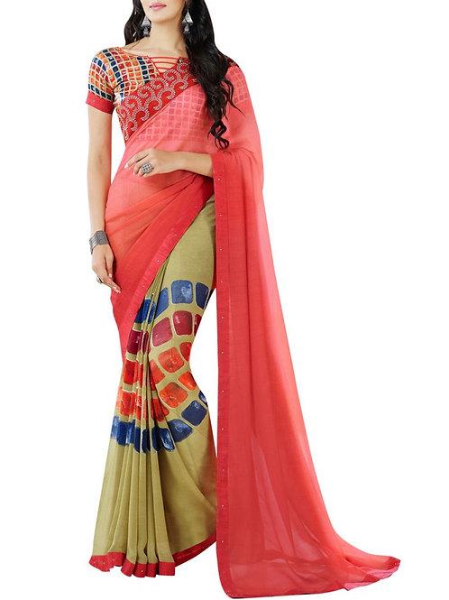 Existence Multi Color Ladies Saree