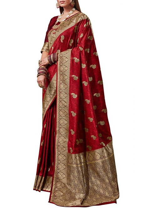 Delightful Red Sarees