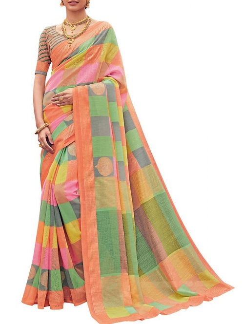 Modish Multi Traditional Silk Sarees