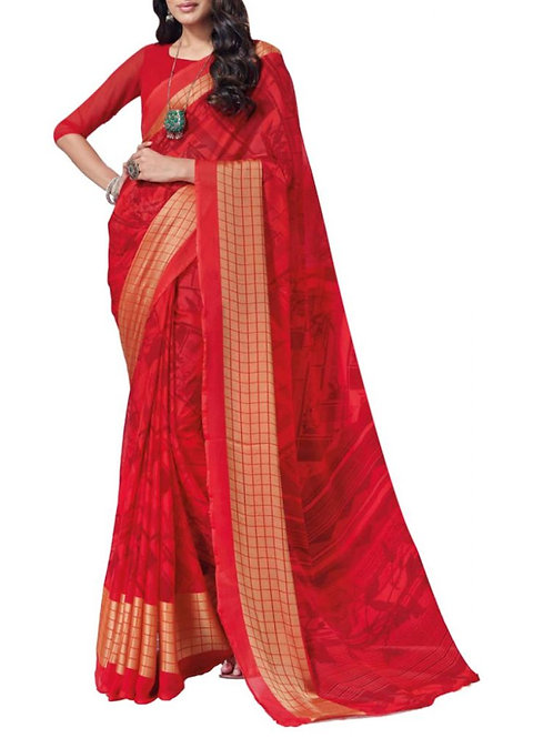 Hair-Raising Red Best Sarees Online