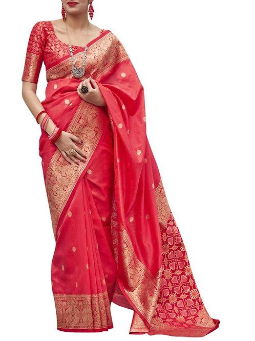 Astounding Red Saree Collection