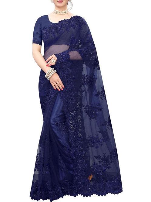 Mind-Blowing Blue Best Saree