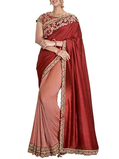 Enchanting Multi Online Saree Shopping India