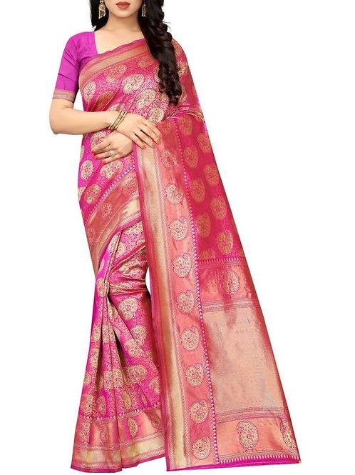 Exhilarant Rani Sarees Collection With Price