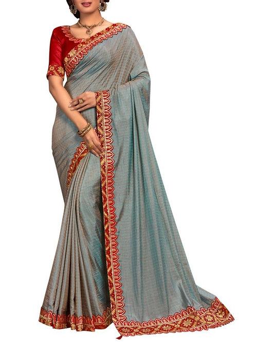 Adorable Blue Beautiful Sarees Online