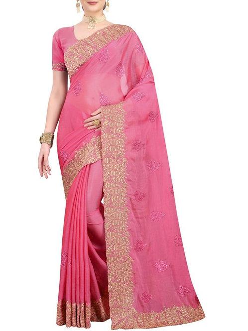 Enchanting Pink Sarees Online