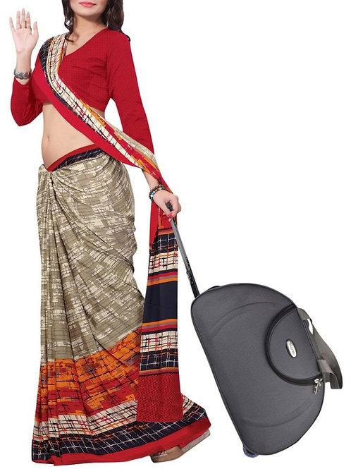 Graceful Multi Color Indian Saree Design