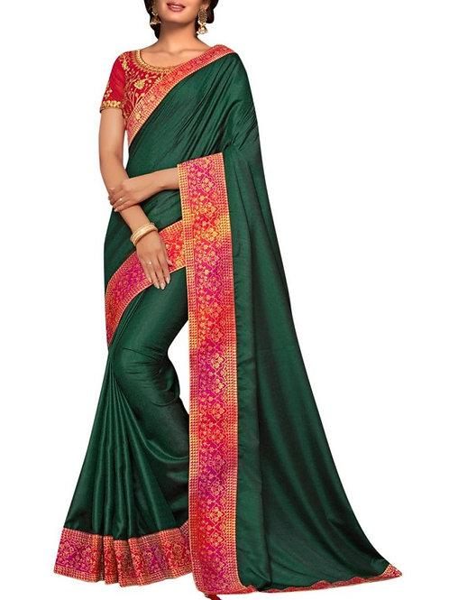 Different Green Saree Online Shopping