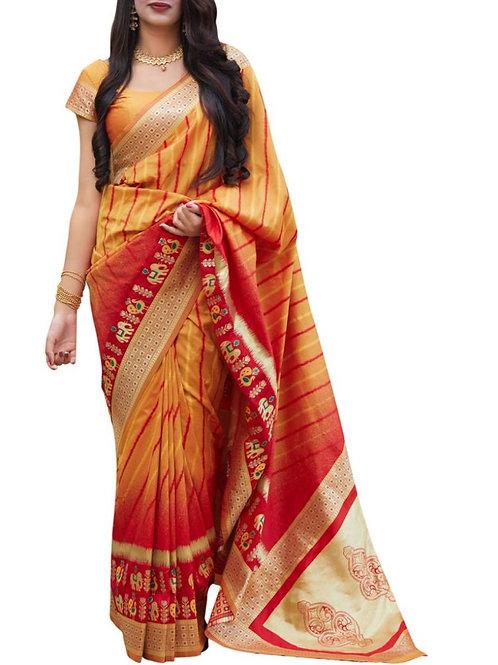 Beautiful Yellow Bridal Sarees Online