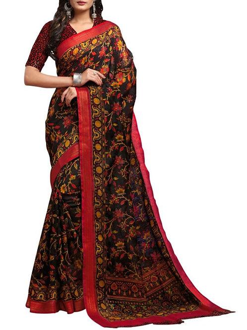Magnificent Black Buy Sarees Online