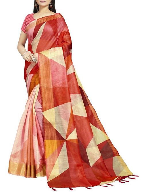 Excellent Multi Latest Saree Fashion
