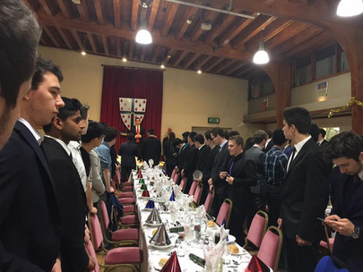 The Value of Formal Dinner-By Louis McCaig-White