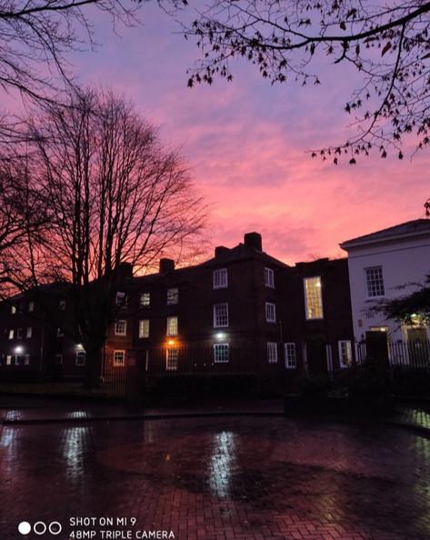 Winter sunrise, taken by Amber Sparshott