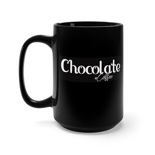 Chocolate Coffee 15oz Mug,  Coffee Mug, Espresso Mug, Espresso Maker
