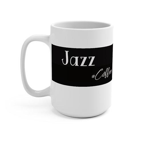Jazz Coffee Mug 15oz, Coffee Mug, Coffee, Espresso Mug, Gift.