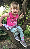 Little Bears Forest Preschool - playing in the trees