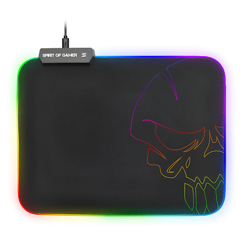 Skull RGB Gaming mouse pad - Taille M