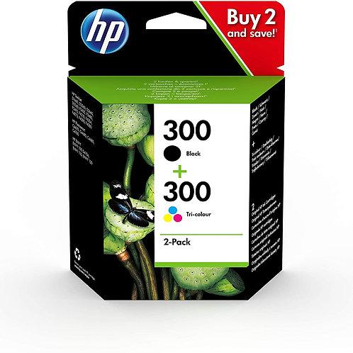 HP 300 NOIR ET COULEUR