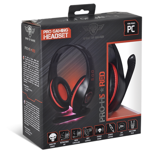 Casque PRO-H5 RED