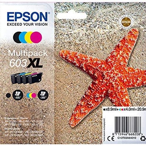EPSON 603 C XL COMPLET NOIR ET COULEURS