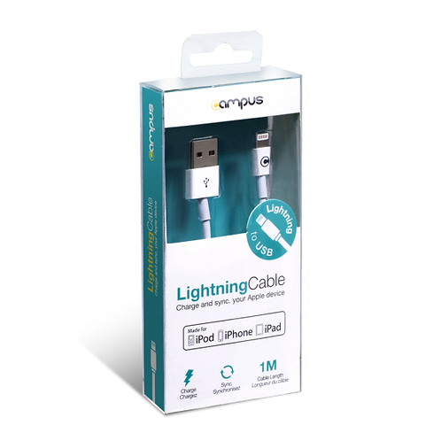 Câble recharge/synchronisation Lightning vers USB