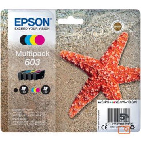 Cartouche d'encre Epson 603 (CMJ N) Etoile de Mer