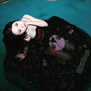 Elle Lee in Dior