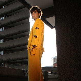 Yellow in the Barbican with ASOS