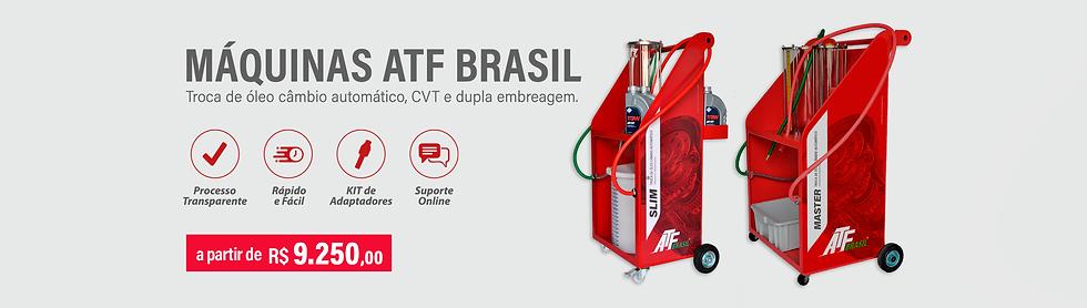 Máquinas de troca de óleo de câmbio. ATF Brasil