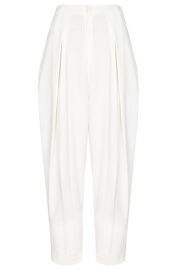 Pleated trousers nihilism