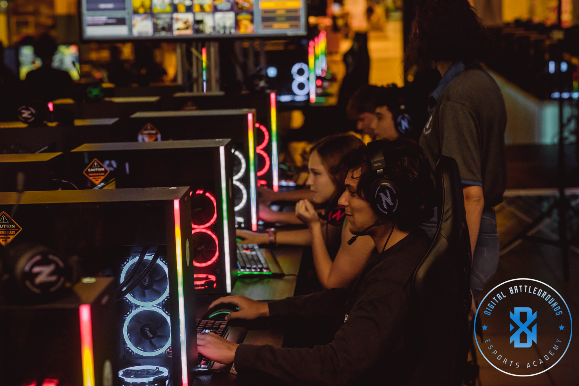 Gamers at DBG