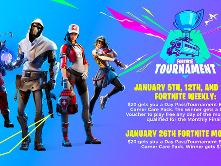 Final Four, a Fortnite Monthly