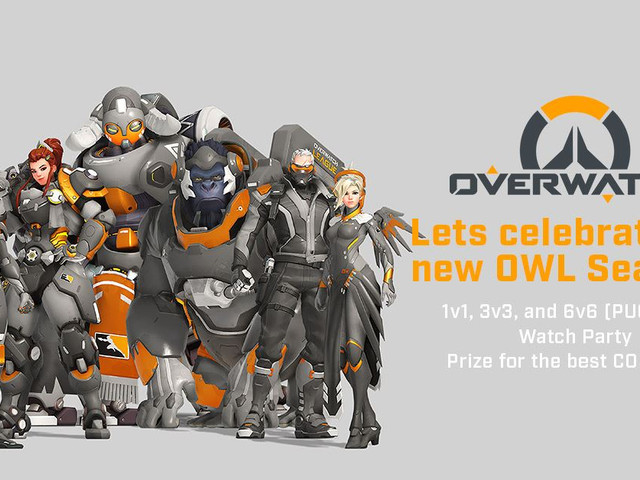 Overwatch League Kickoff Watch Party and Tournament 2020