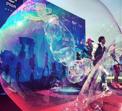 Bubble Show Hong Kong 香港泡泡秀表演 03