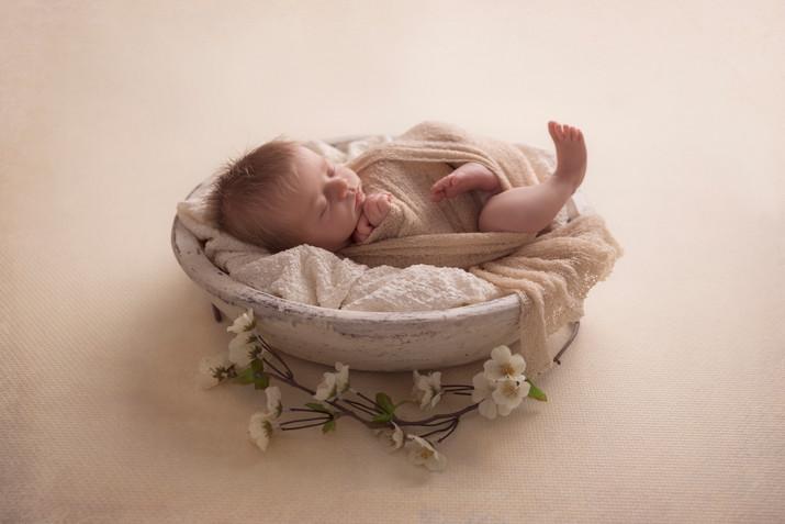 Babyfotoshooting Neugeborenes