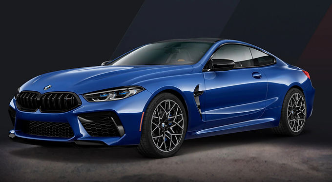 2020 M8 Coupe Competition