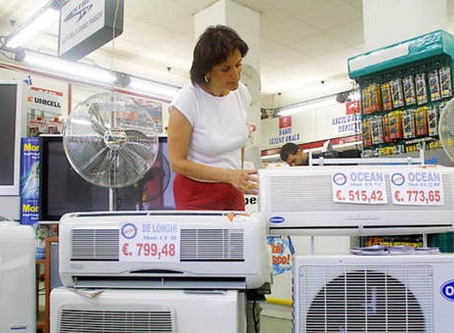 """""""Conviene acquistare un condizionatore in offerta nei centri commerciali"""""""