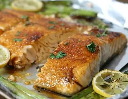 Amazing Honey Glazed Salmon Recipe