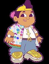 KMG Studio KidSuper Studios Puma SuperPuma Juanda character png